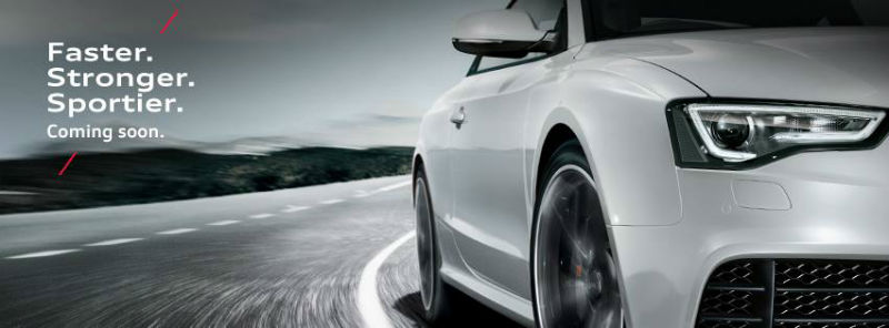 Audi Teases 2013 RS5