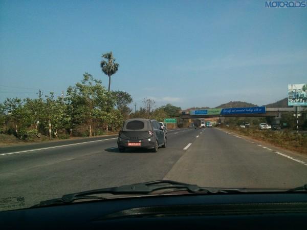 2014 Hyundai i10 caught testing Back View