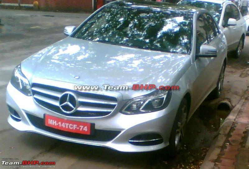 2014 Mercedes Benz E Class spotted