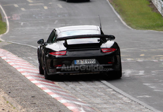 2014 Porsche 911 GT2 Nurburgring Back View
