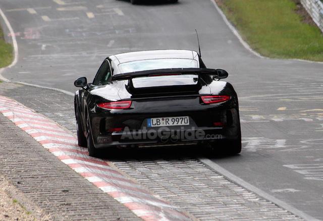 2014 Porsche 911 GT2 Nurburgring Back View