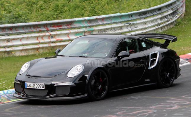 2014 Porsche 911 GT2 Nurburgring