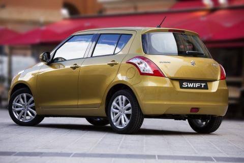 2014 Suzuki Swift Back View