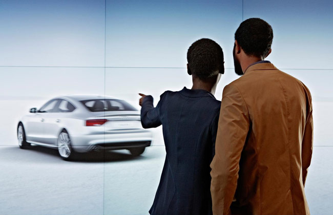 Audi City Virtual Showroom Bags BT Retail Week Technology Honor