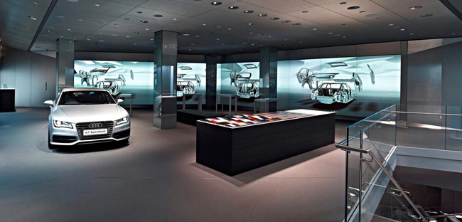 Audi City Virtual Showroom