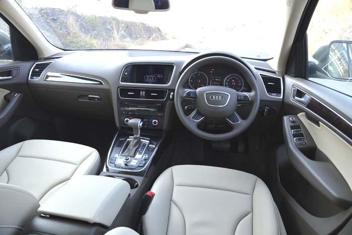 Audi Q5 interols