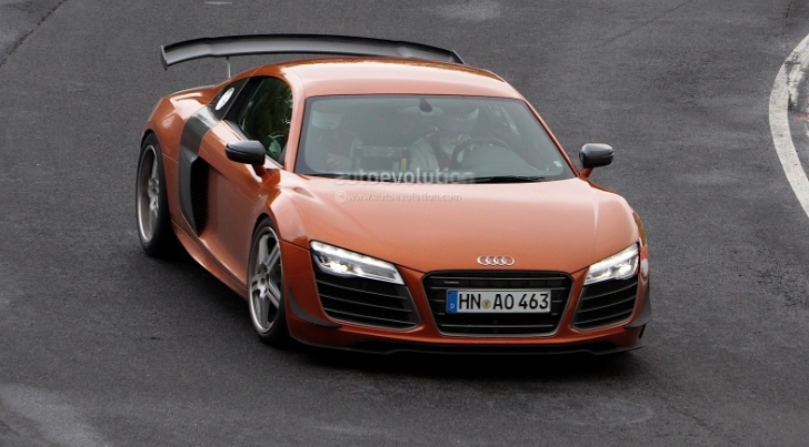 Audi R8 GT3 Facelift Spotted Testing