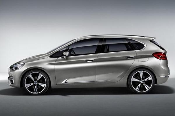 BMW Readies 1 Series Back View