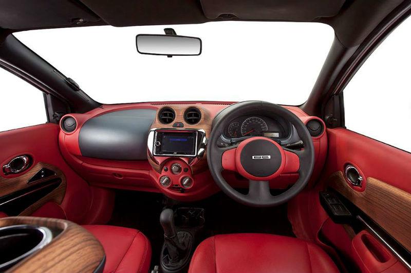 DC Designed Nissan Sunny interiors