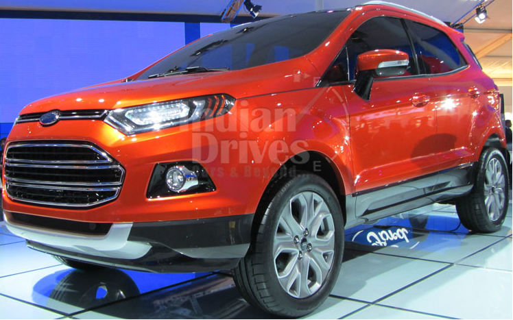 ford india to boost car exports from india. Black Bedroom Furniture Sets. Home Design Ideas