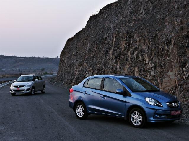 New Honda Amaze vs Maruti Dzire