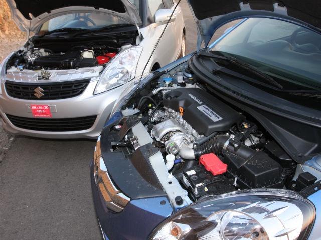 Honda Amaze vs Maruti Dzire Engine