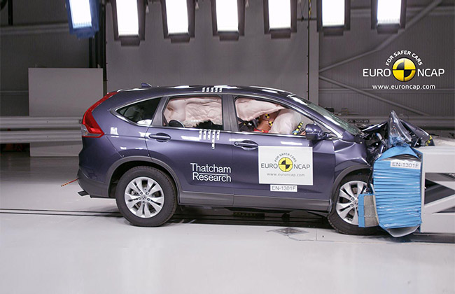 Honda CR-V Receives 5-star Euro NCAP