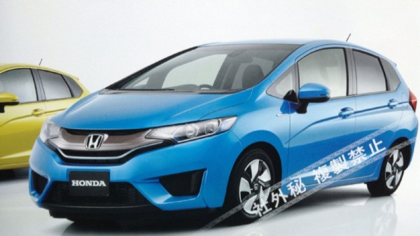 Honda Jazz leaked pictures