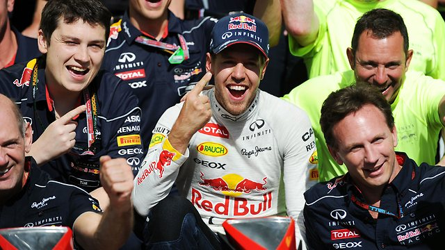Infiniti Red Bull Racing gets another year with their champion Sebastian Vettel