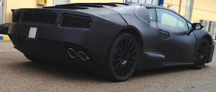 Lamborghini Gallardo Back View