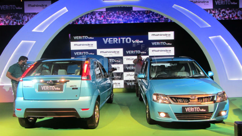 Mahindra Launches Verito Vibe