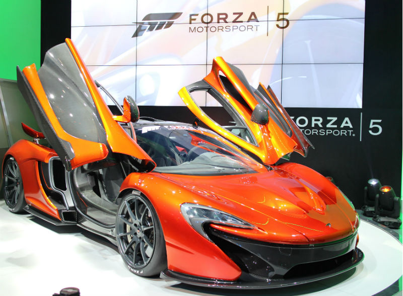 McLaren and Forza Motorsports 5