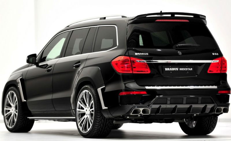 Brabus Widestar Back View