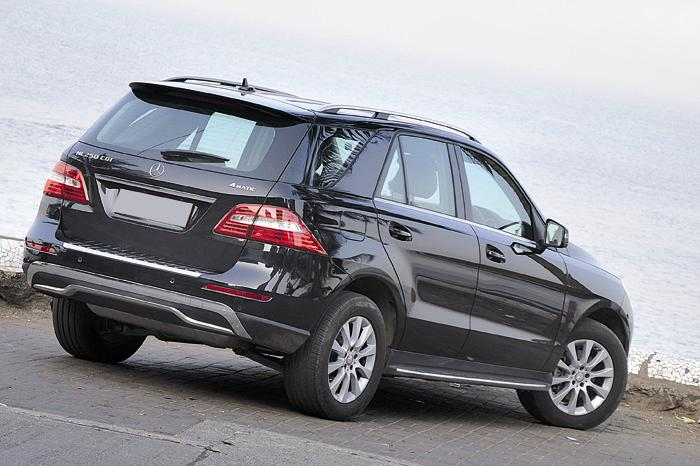 Mercedes Benz ML 250 CDI Back View