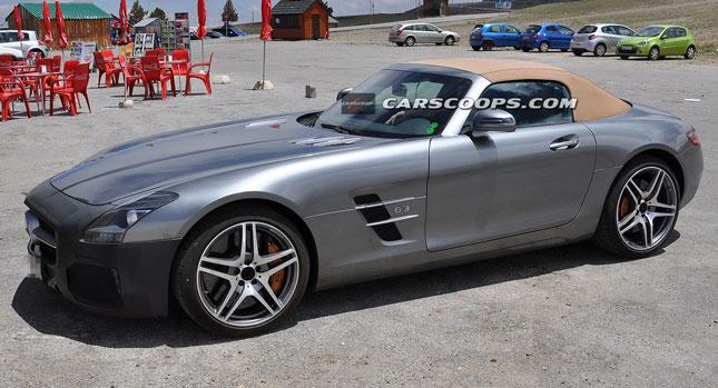 Mercedes Benz SLS AMG Facelift
