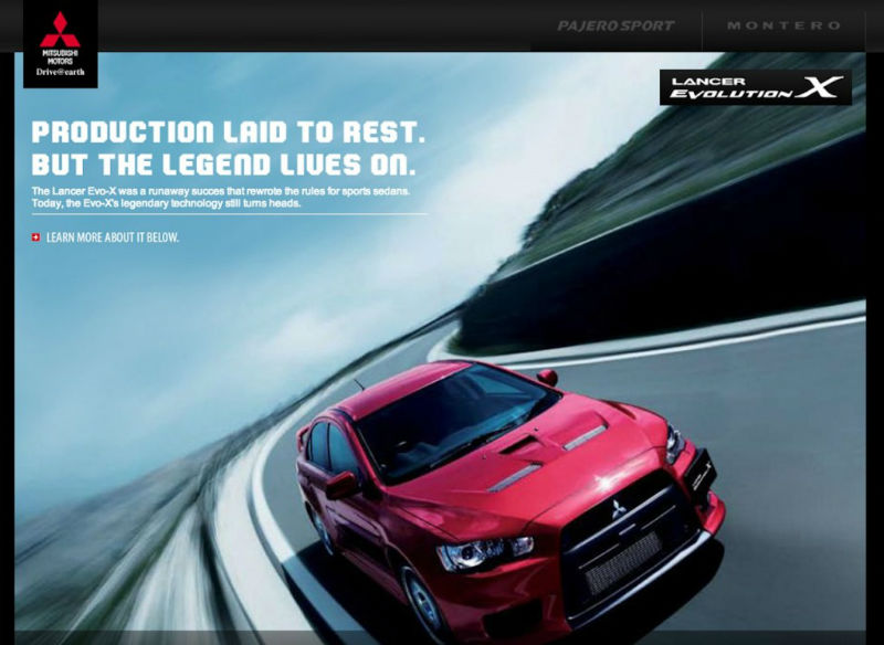 Mitsubishi Lancer EVO X Production