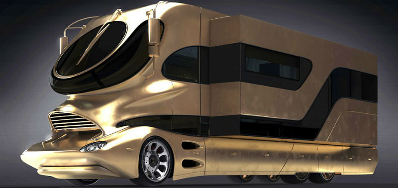 Motorhome Goes on Sale In Dubai