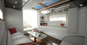 Motorhome kitchen