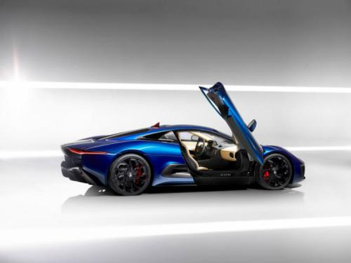 New Jaguar C-X75