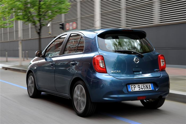Nissan Micra Back View