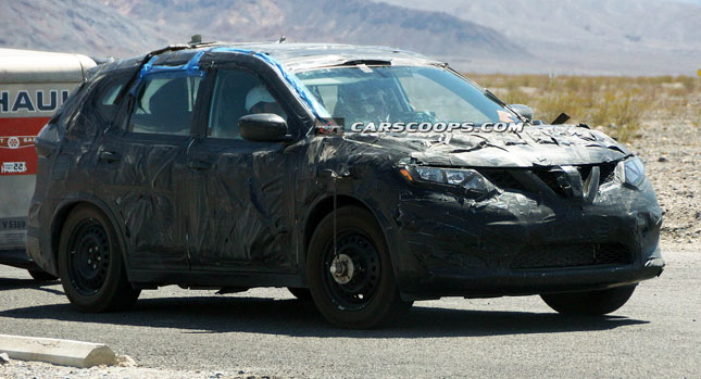 Nissan X-Trail Spied Testing