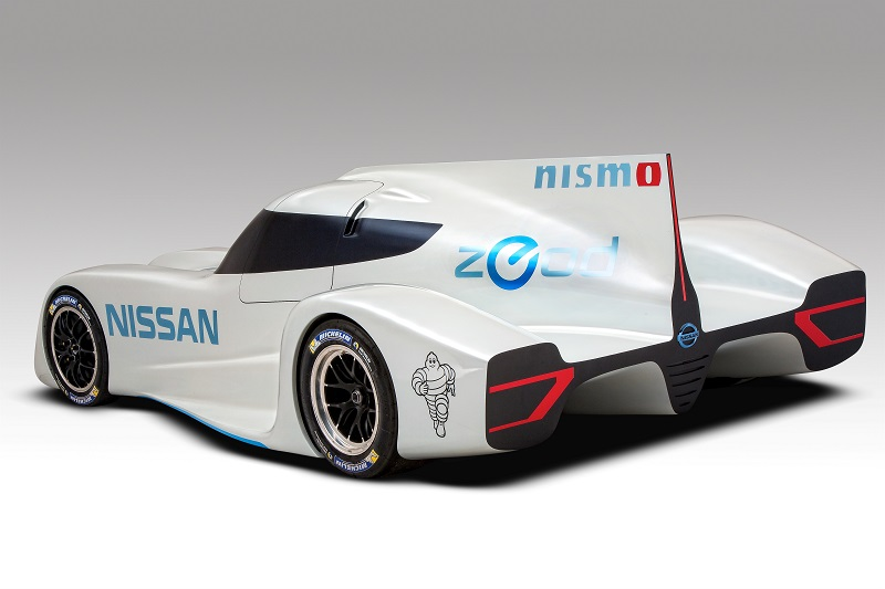 Nissan Zeod Rc Back View