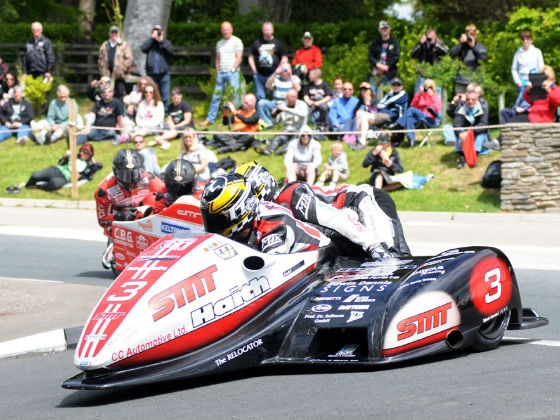 Reeves and Sayle bag Sure Side Car race