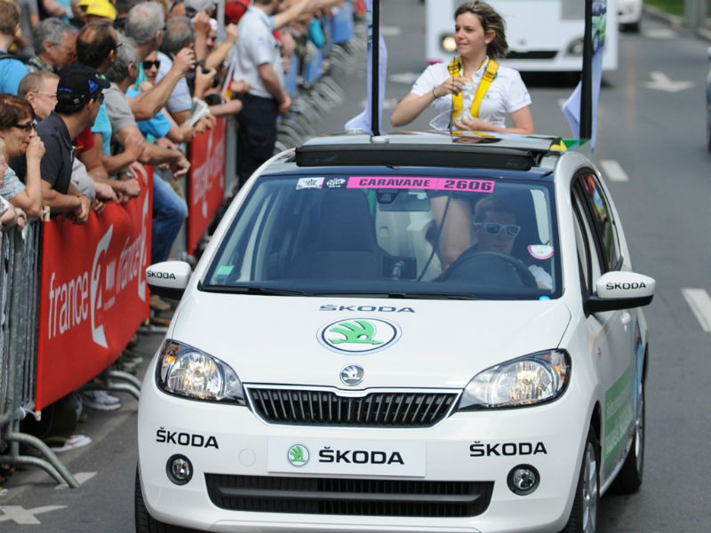 Skoda to sponsor Tour de France for the 10th time