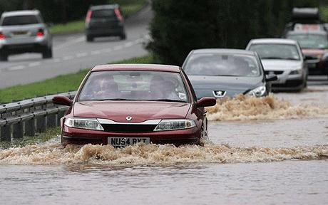Tips to Drive through the Floods and Water Logged Areas Part 2