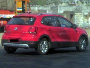 Volkswagen CrossPolo Back View