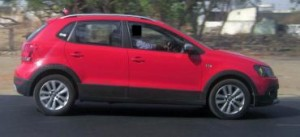 Volkswagen CrossPolo spotted again