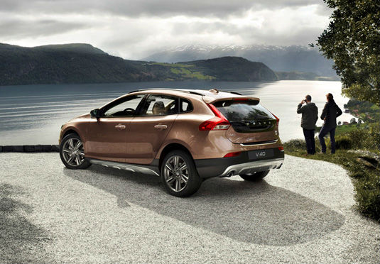 Volvo V40 Cross Country Back View