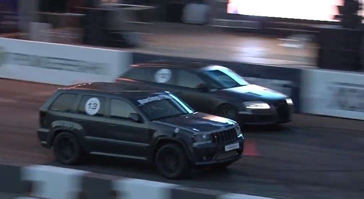 1350 HP Jeep Grand Cherokee Turbo is the Record Winner of All Quarter Mile