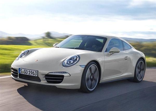 2013 Porsche 911 50th anniversary package