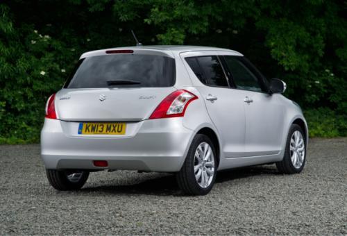 2013 Suzuki Swift facelift Back View
