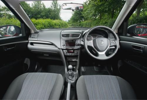 2013 Suzuki Swift facelift interiors