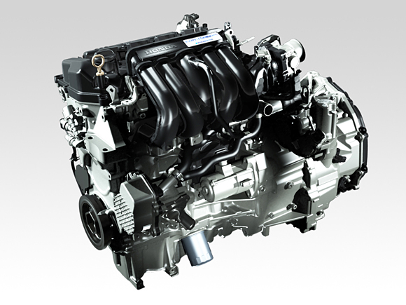 2014 Honda Jazz Hybrid Engine