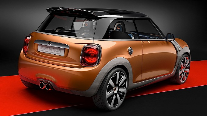 2014 MINI Vision design concept previews