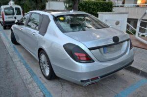 2014 Mercedes-Benz S-Class Long Wheelbase Spied