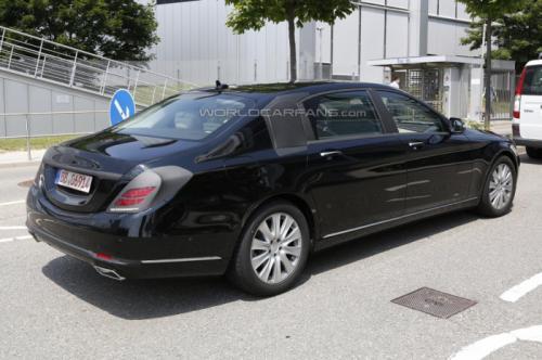 2014 Mercedes-Benz S-Class Pullman Back View