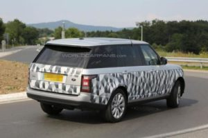 2014 Range Rover Long Wheelbase Model Spy Shots
