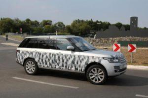 2014 Range Rover long wheelbase returns
