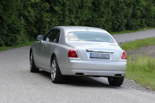 2014 Rolls Royce Ghost Facelift Back View