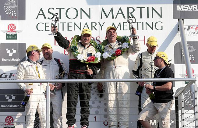 Aston Martin Celebrates